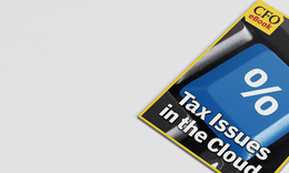 Tax Issues in the Cloud
