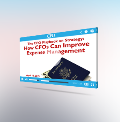 Adaptive insights sponsored cfo playbook webcast on expense management 04 14 15