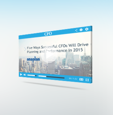 Anaplan sponsored webcast with cfo publishing 02 25 15