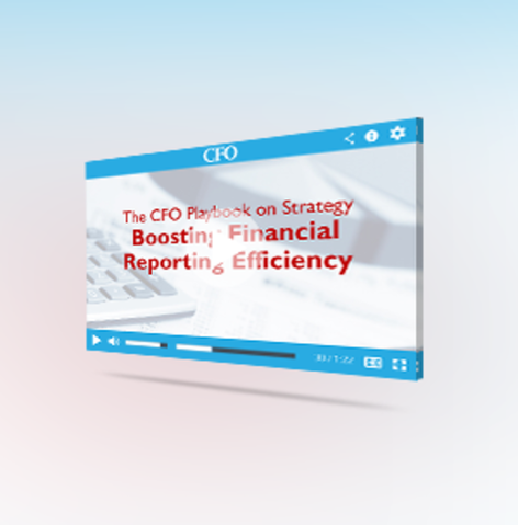 Oracle sponsored cfo playbook webcast on financial reporting 04 27 15
