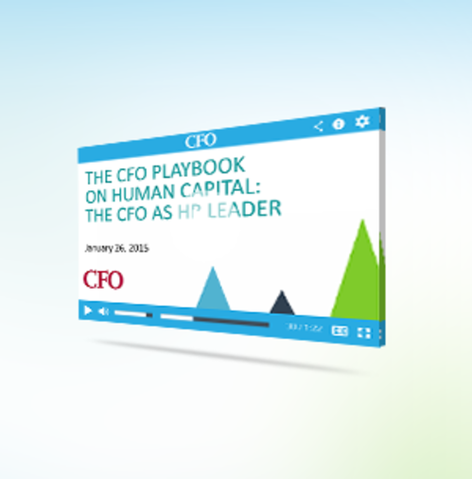 The cfo playbook on human capital    the cfo as hr leader    01 26 15