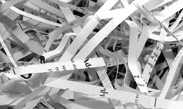 What can a paper shredder teach us about big data?
