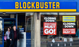 Classic Strategic Failures: Blockbuster
