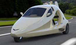 World's first flying sports car on its way