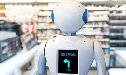 Robotics driving rapid growth in smart retail market