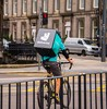 Amazon and uber compete to buy deliveroo small