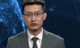 Chinese TV station unveils uncanny AI news anchor