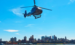 Uber takes to the skies with new helicopter service