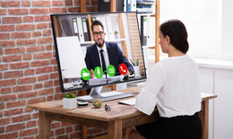 Working at Home Becomes the New Normal: Putting the 'Human' Into Virtual Meetings