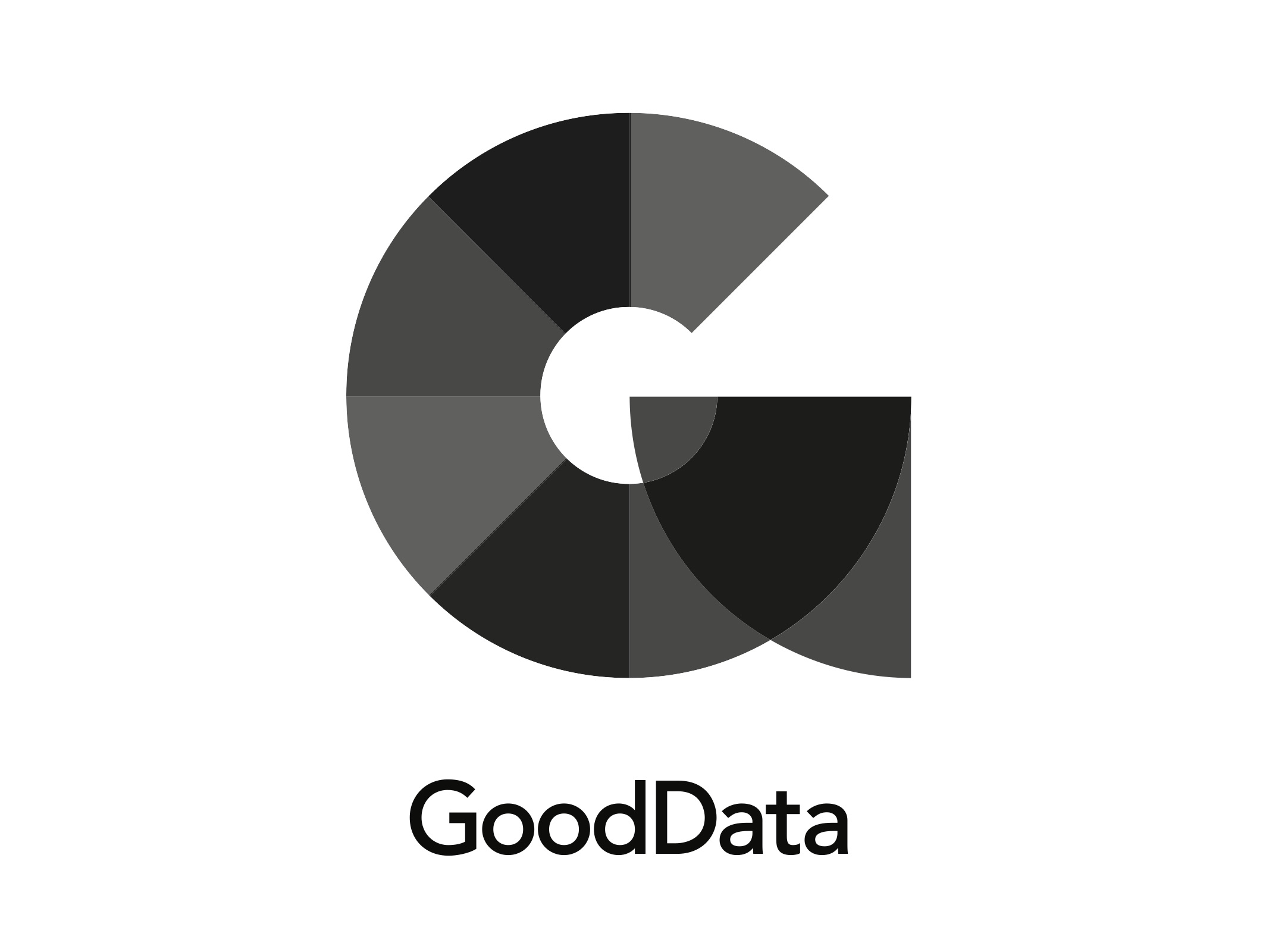 Gooddata vertical black